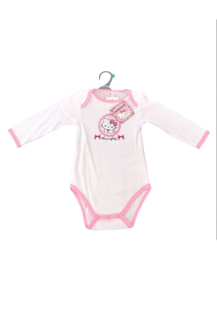 Body bébé Hello Kitty blanc et rose